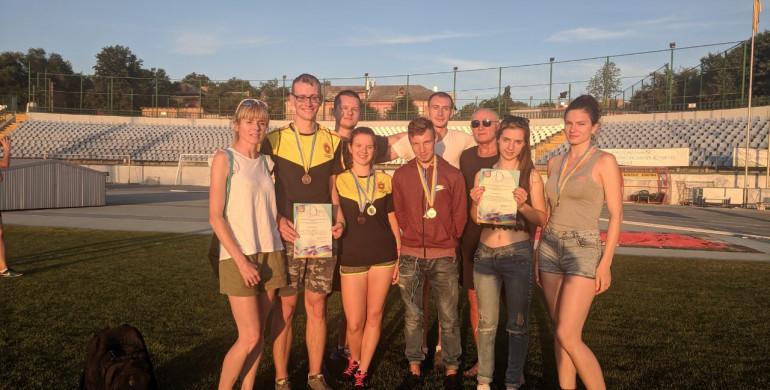 Рівненські легкоатлети здобули медалі Чемпіонату України