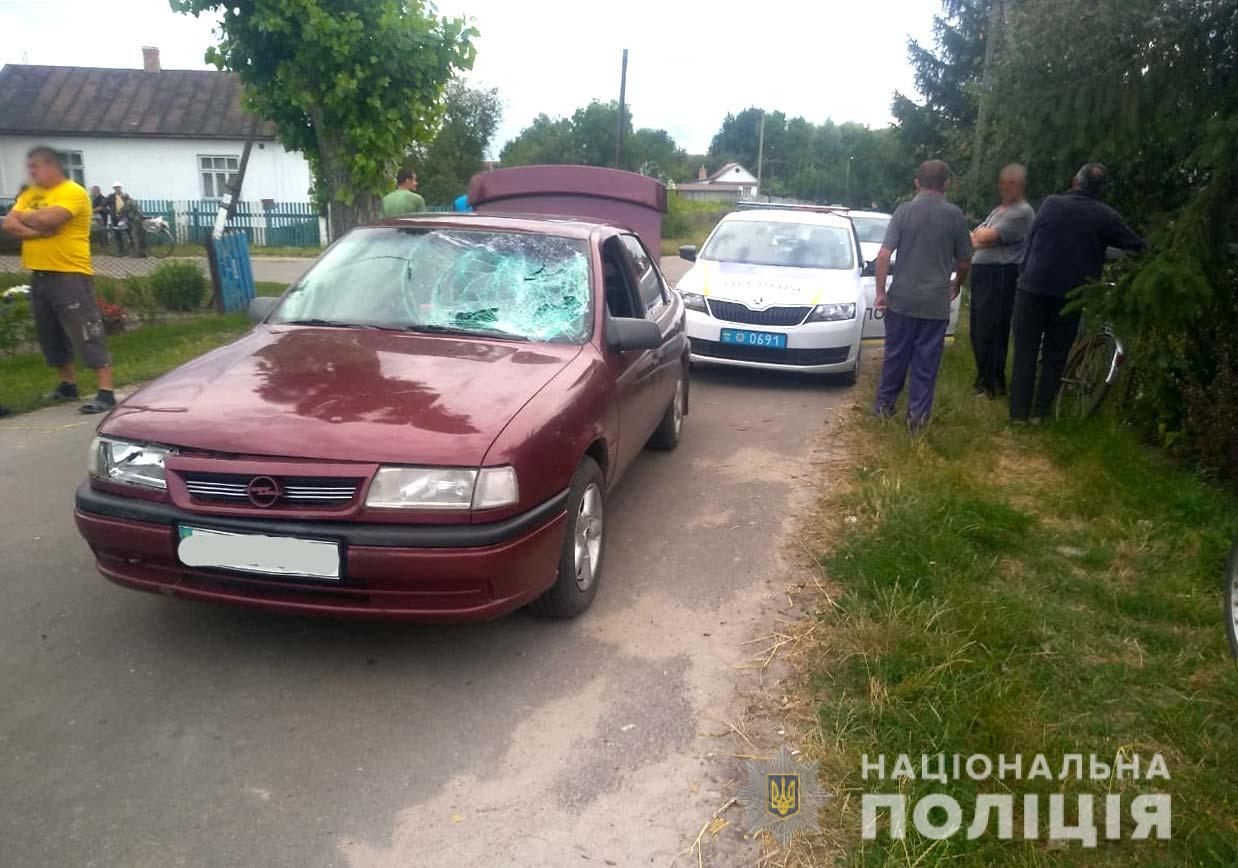 Внаслідок двох ДТП на Рівненщині постраждав пішохід та велосипедист
