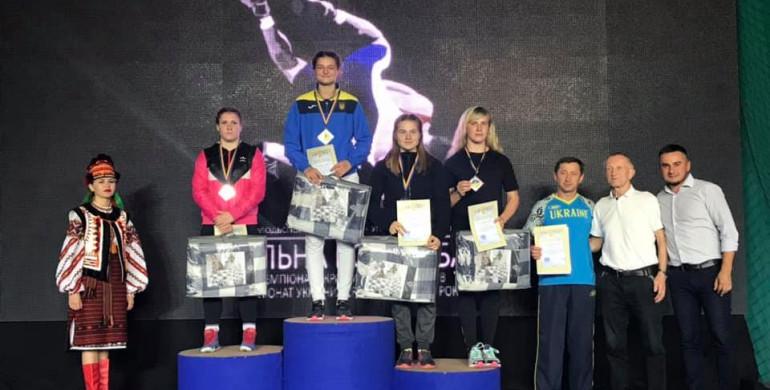 Рівнянка здобула срібло на Чемпіонаті України