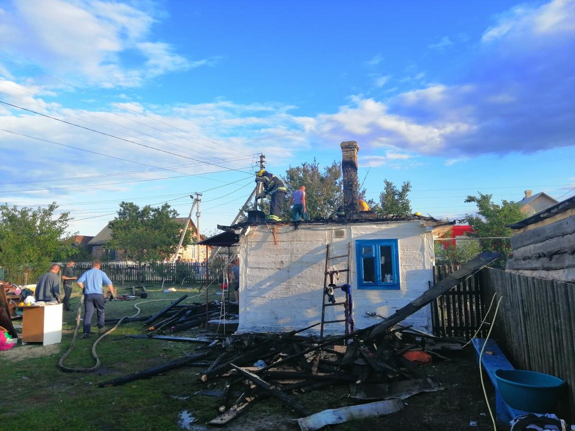 На Коспопільщині рятувальники ліквідували пожежу