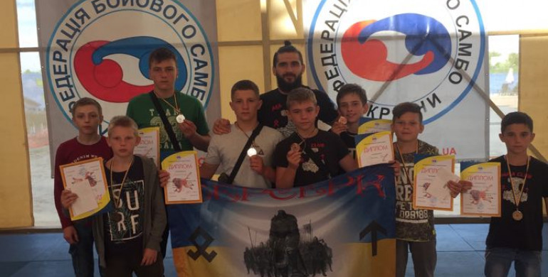 «Берсерки» з Рівненщини завоювали медалі Всеукраїнського турніру
