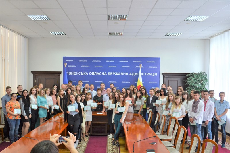 Талановита молодь Рівненщини отримала 110 обласних премій