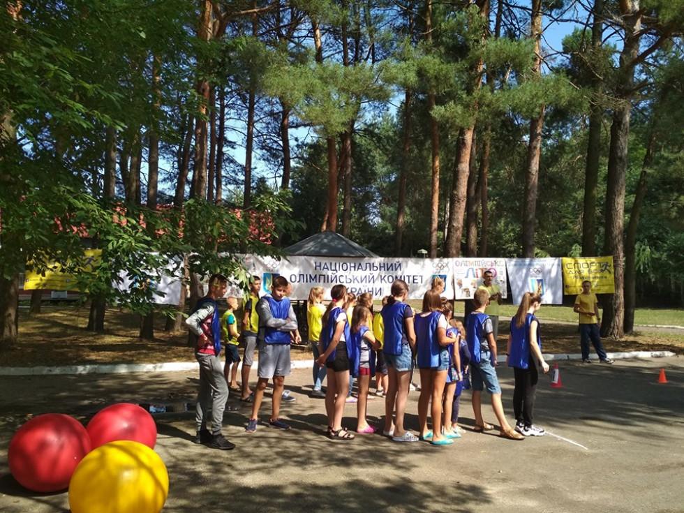 У Хрінниках організували спортивний захід «Олімпійське літо»