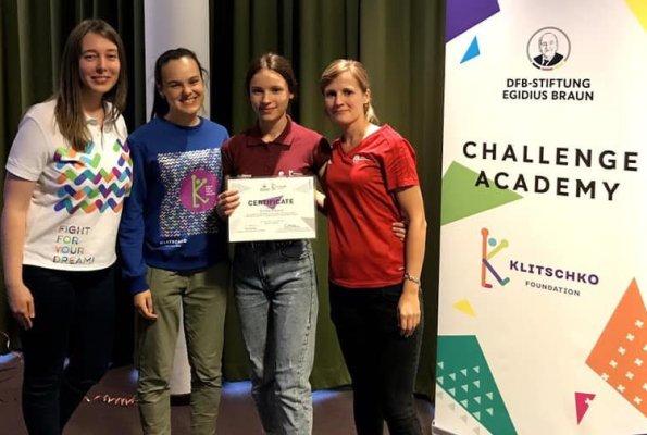 Студентка з Рівного стала учасницею інтернаціонального проекту «Академія викликів» від Фонду братів Кличків