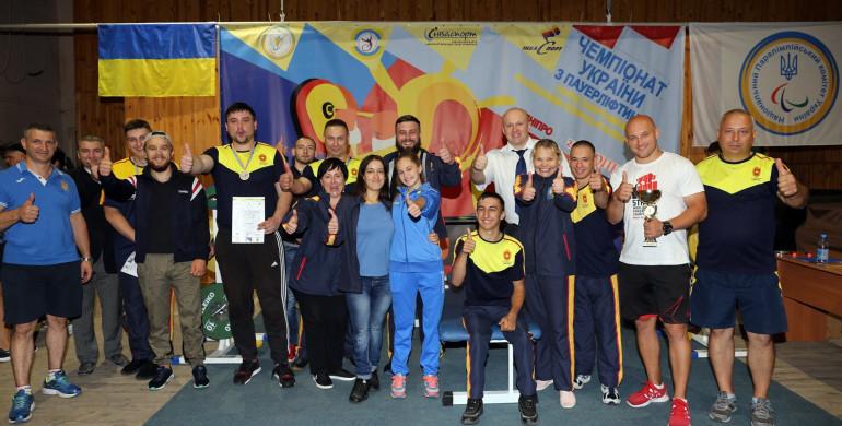 Пауерліфтери з Рівненщини - найсильніші в Україні