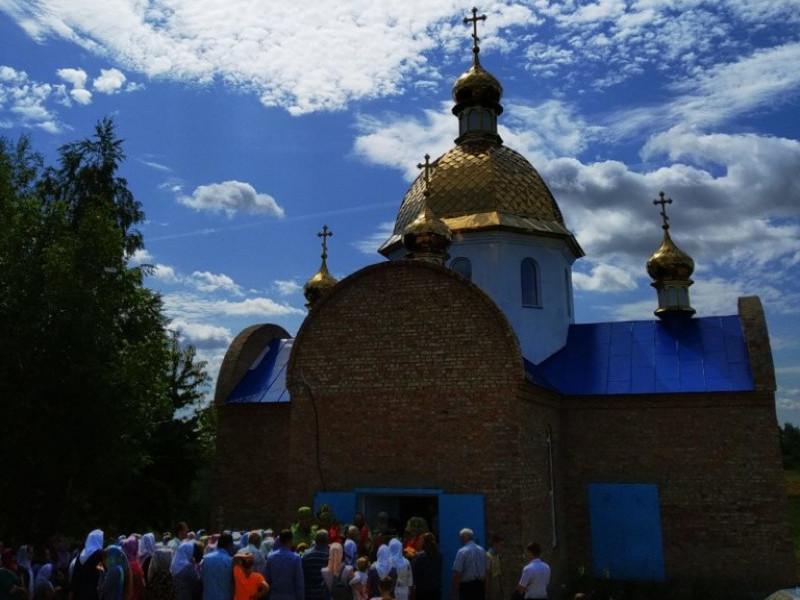 На Гощанщині освятили новий храм УПЦ (МП)