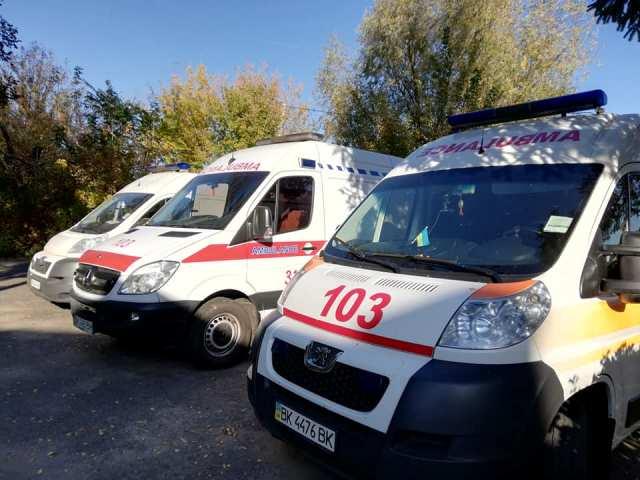 На Рівненщині модернізують службу «швидкої» допомоги