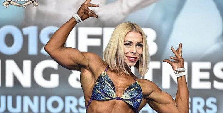 Рівненська культуристка готується до Чемпіонату Світу