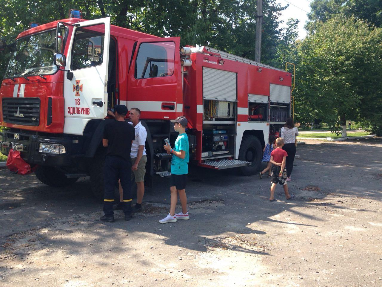 Рівненські рятувальники прийняли участь в урочистостостях до Дня села Гільча Друга