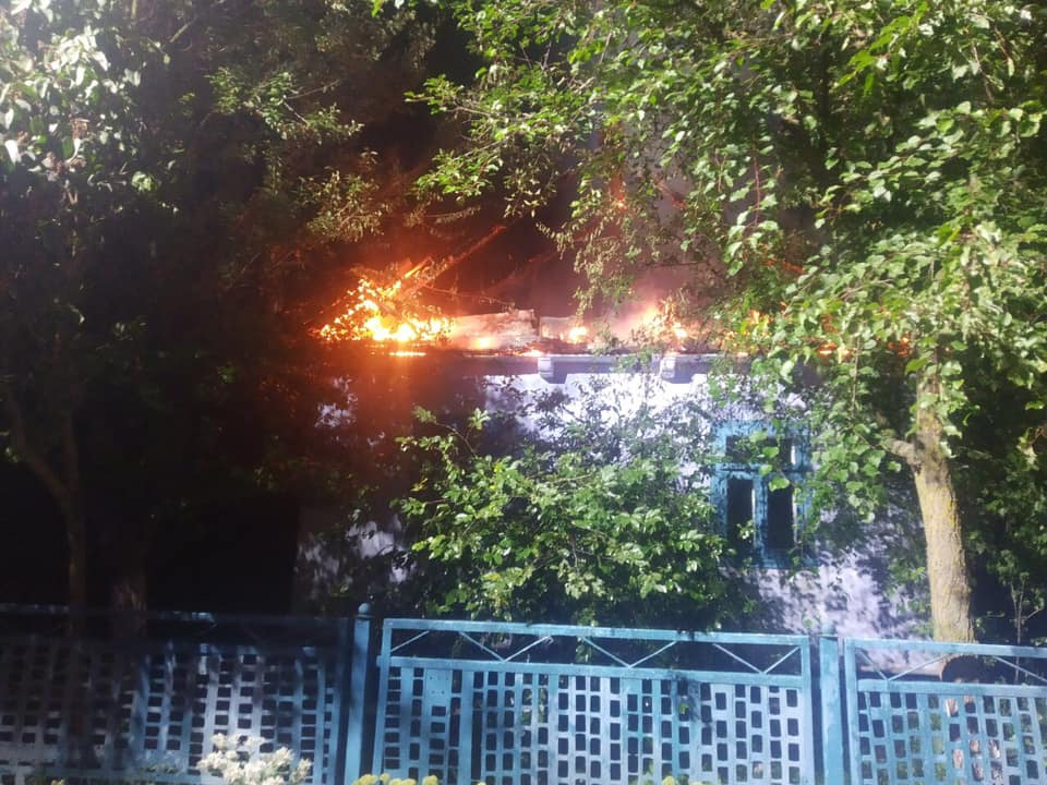 В Олександрії під час пожежі загинув чоловік