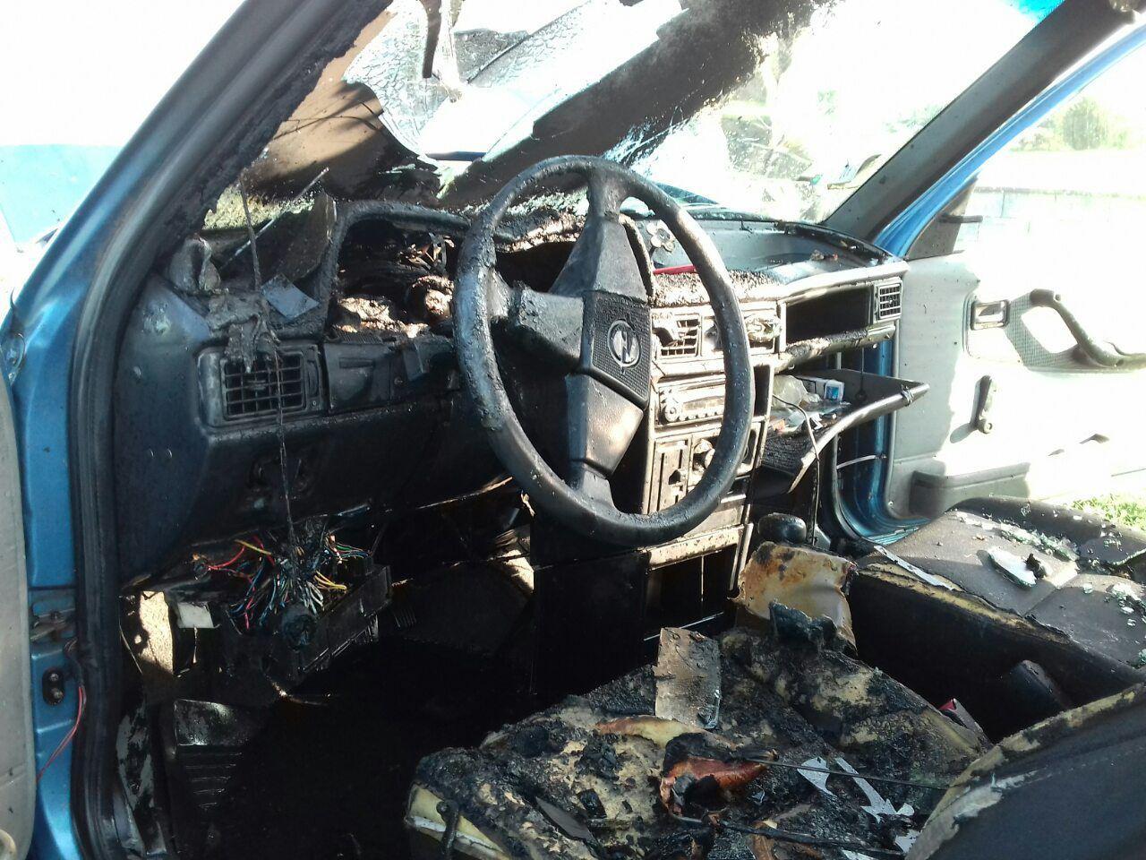 Дубенські рятувальники ліквідували загорання автомобіля