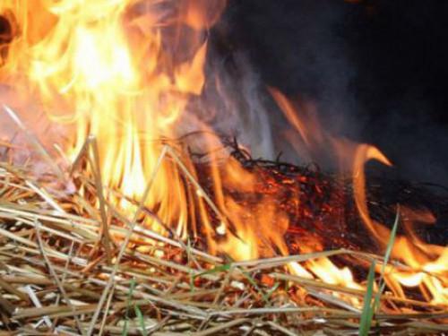 Рятувальники застерігають рівнян не спалювати суху траву
