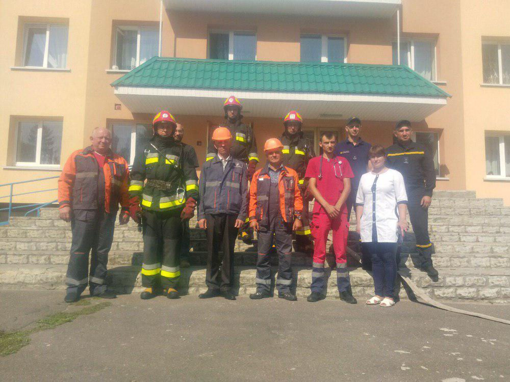 У Здолбунові рятувальники провели тактико-спеціальні навчання