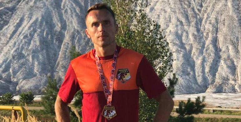 Рівненский бігун став другим у Білорусі