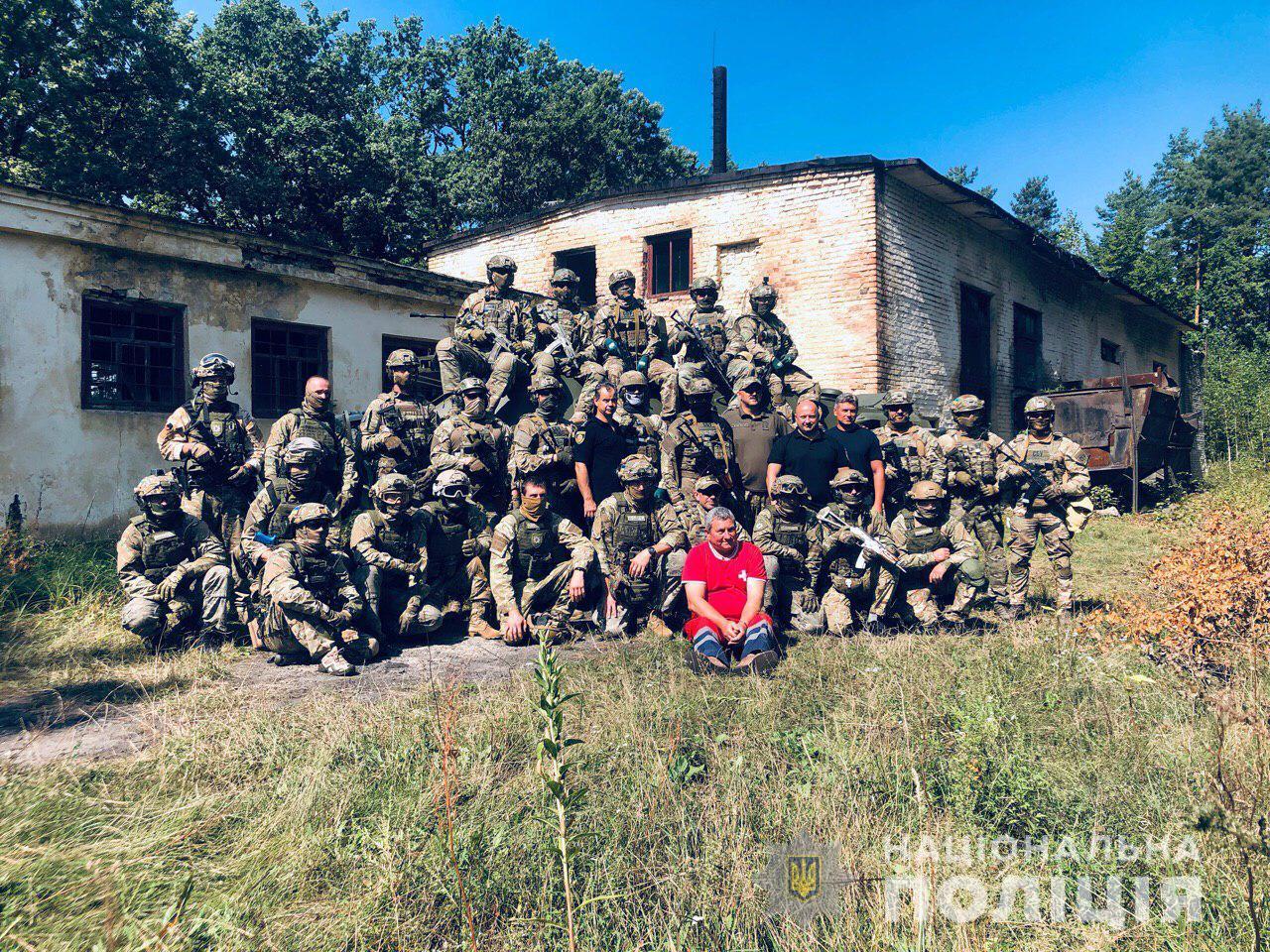 Рівненські поліцейські взяли участь в антитерористичних навчаннях