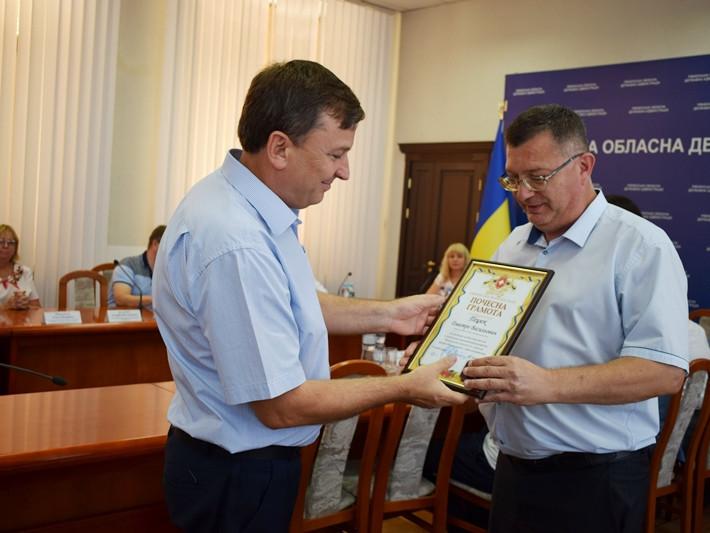 Демидівського бізнесмена нагородили у Рівному