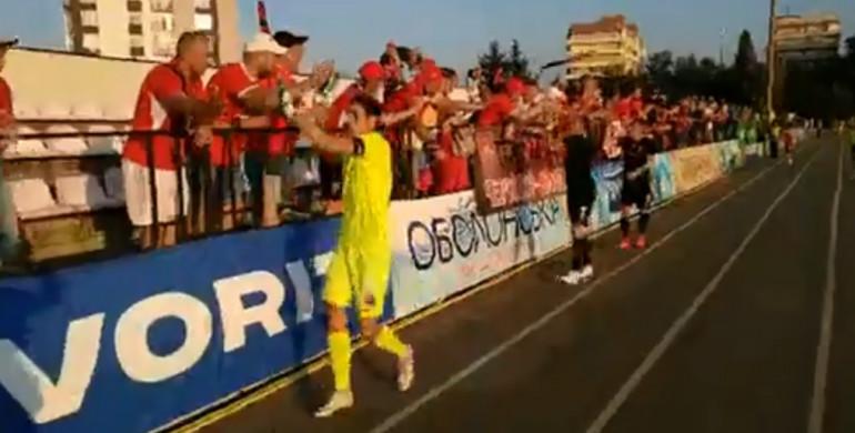Рівненський «Верес» здобув перемогу над «Оболонь-Бровар»