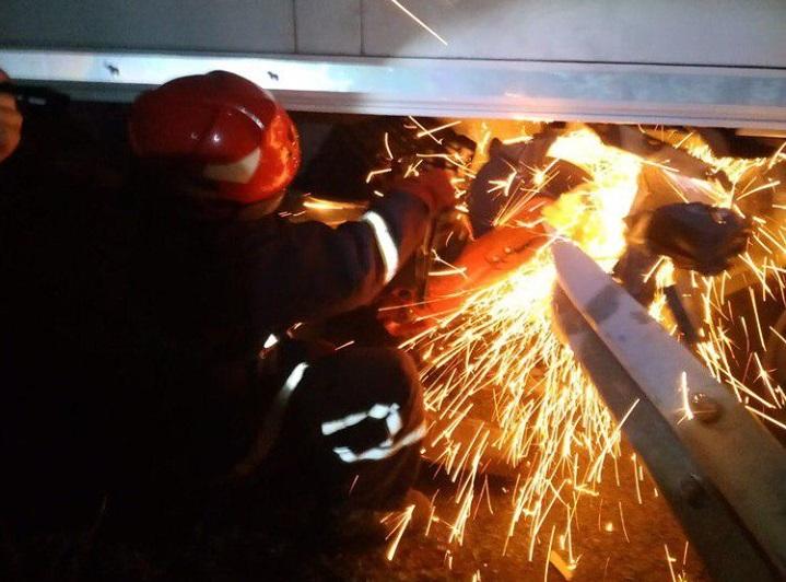 Рятувальники надали допомогу після ДТП на Кореччині
