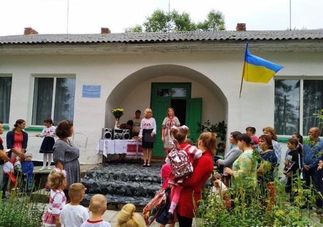 У Яблунному запрацював новий дитячий садок