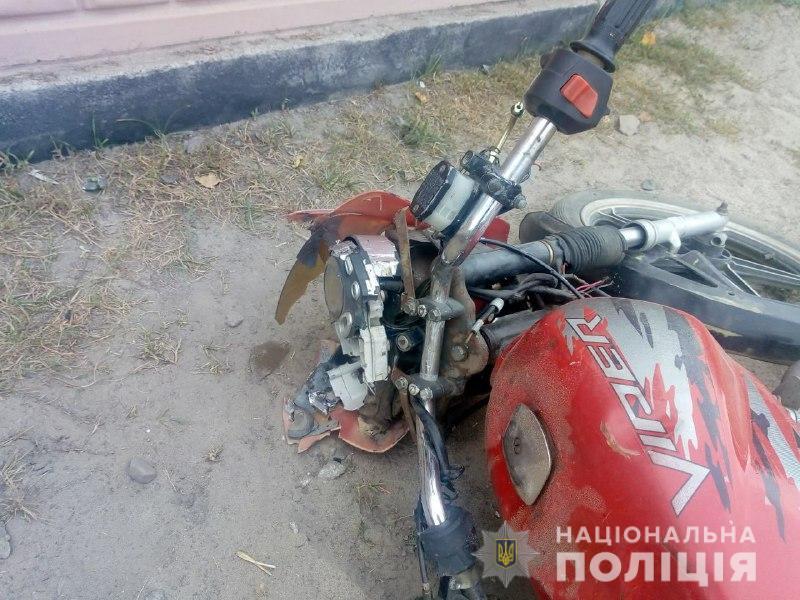 У Вітковичах загинув мотоцикліст