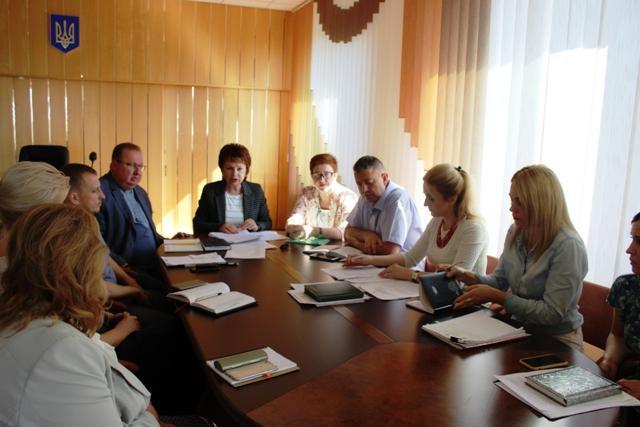 Обласна комісія вивчає питання зарахування до Клеванської санаторної школи