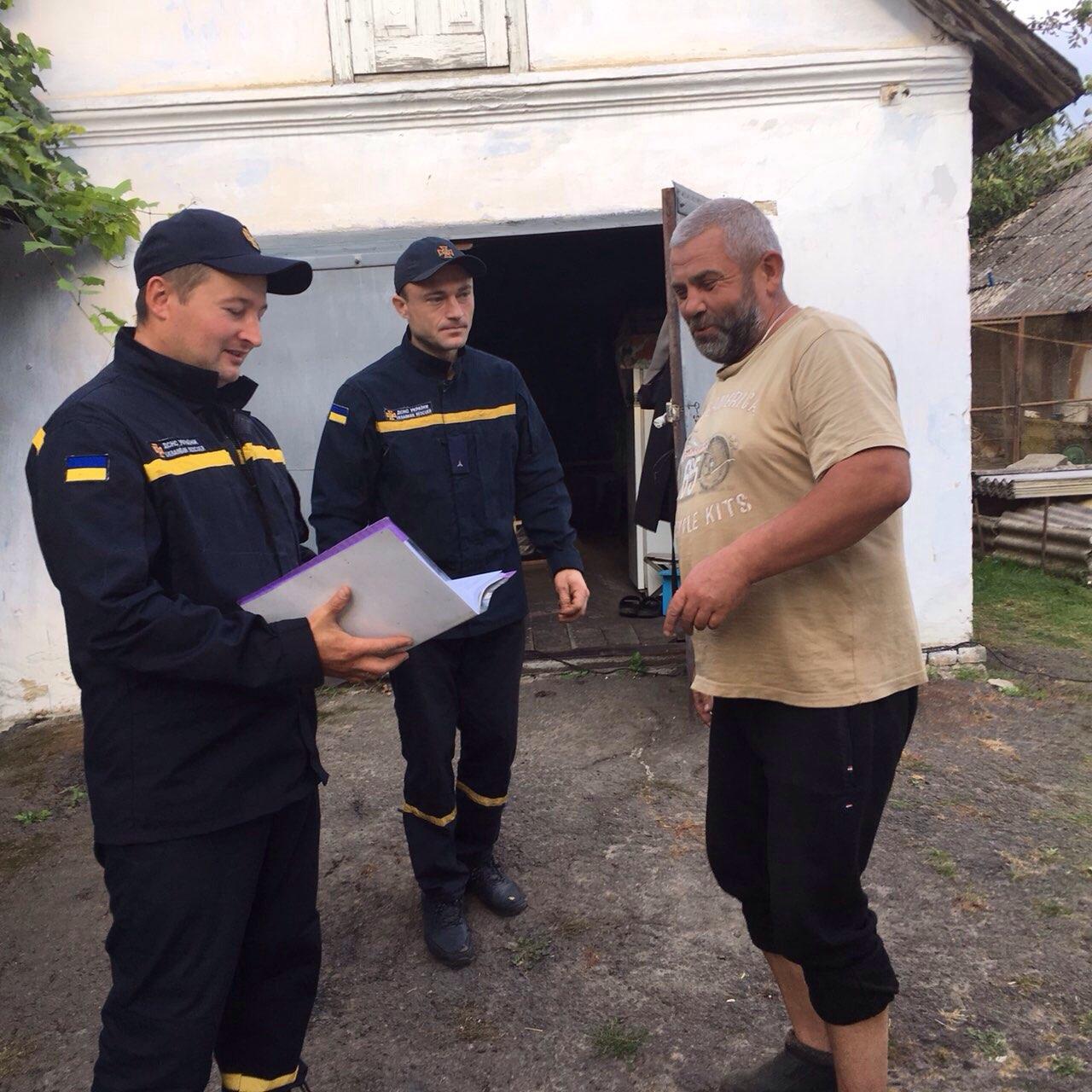 На Здолбунівщині рятувальники провели навчання населення