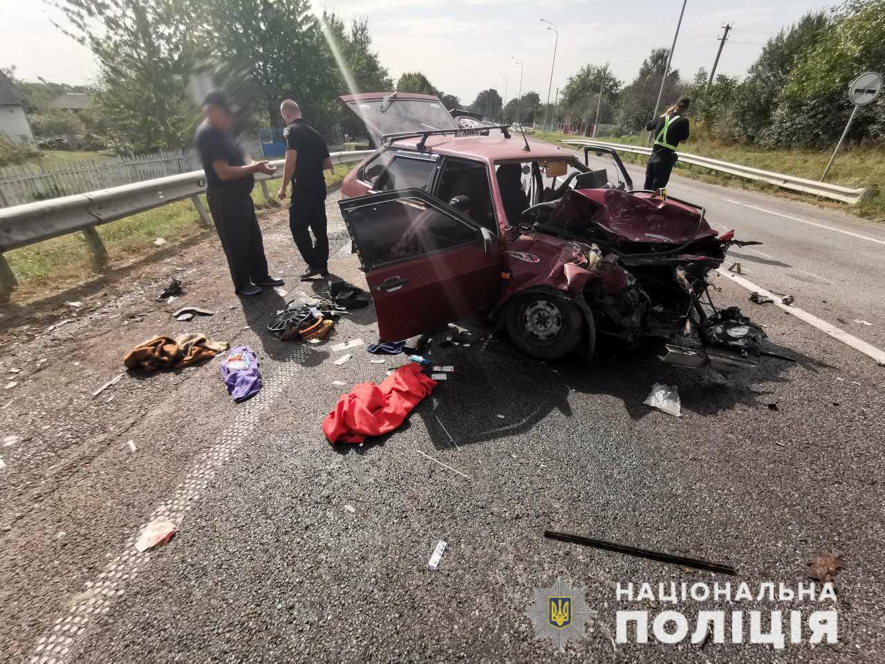 У Турковичах троє осіб постраждали внаслідок ДТП