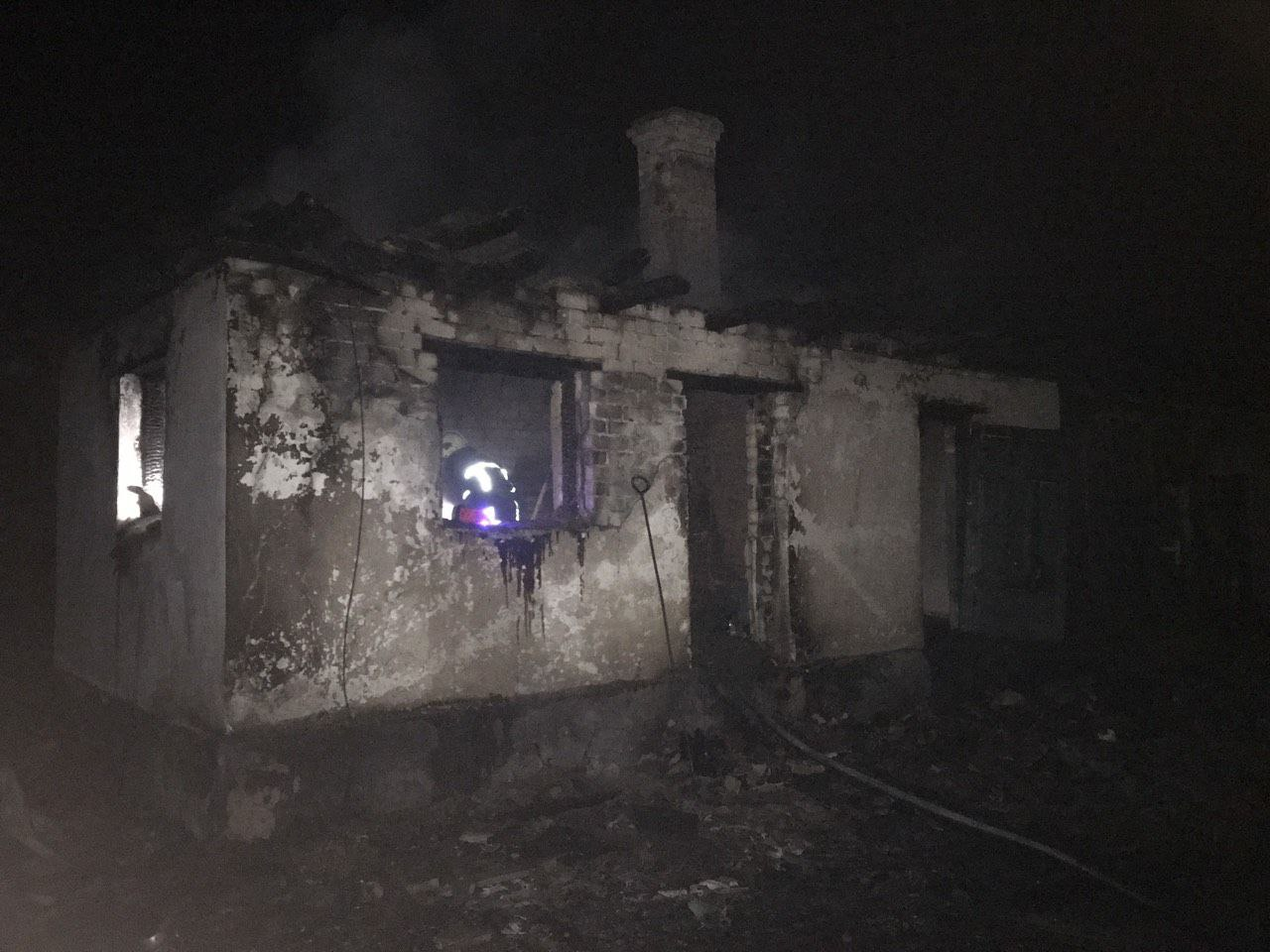 У Рокитному під час пожежі загинув господар будинку