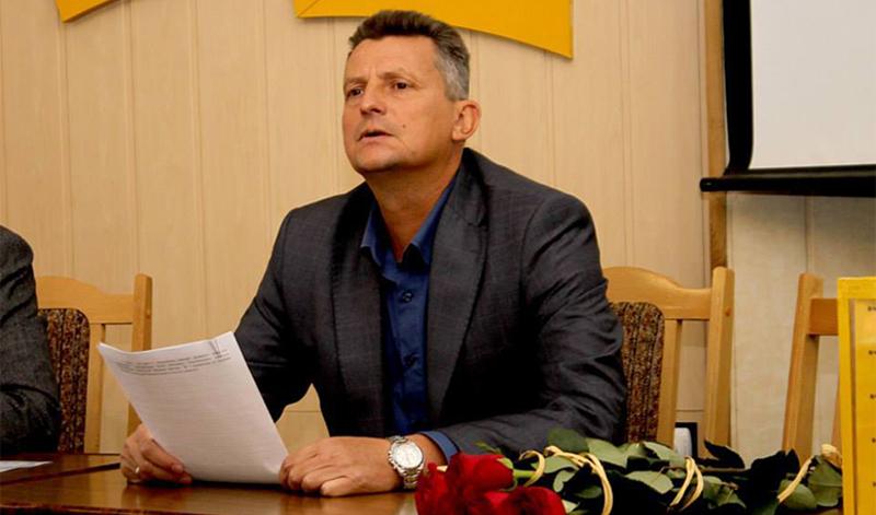Віктор Мошинський похвалився коларом