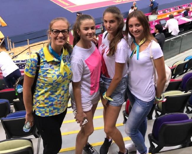 Рівненська гімнастка виступила у Баку