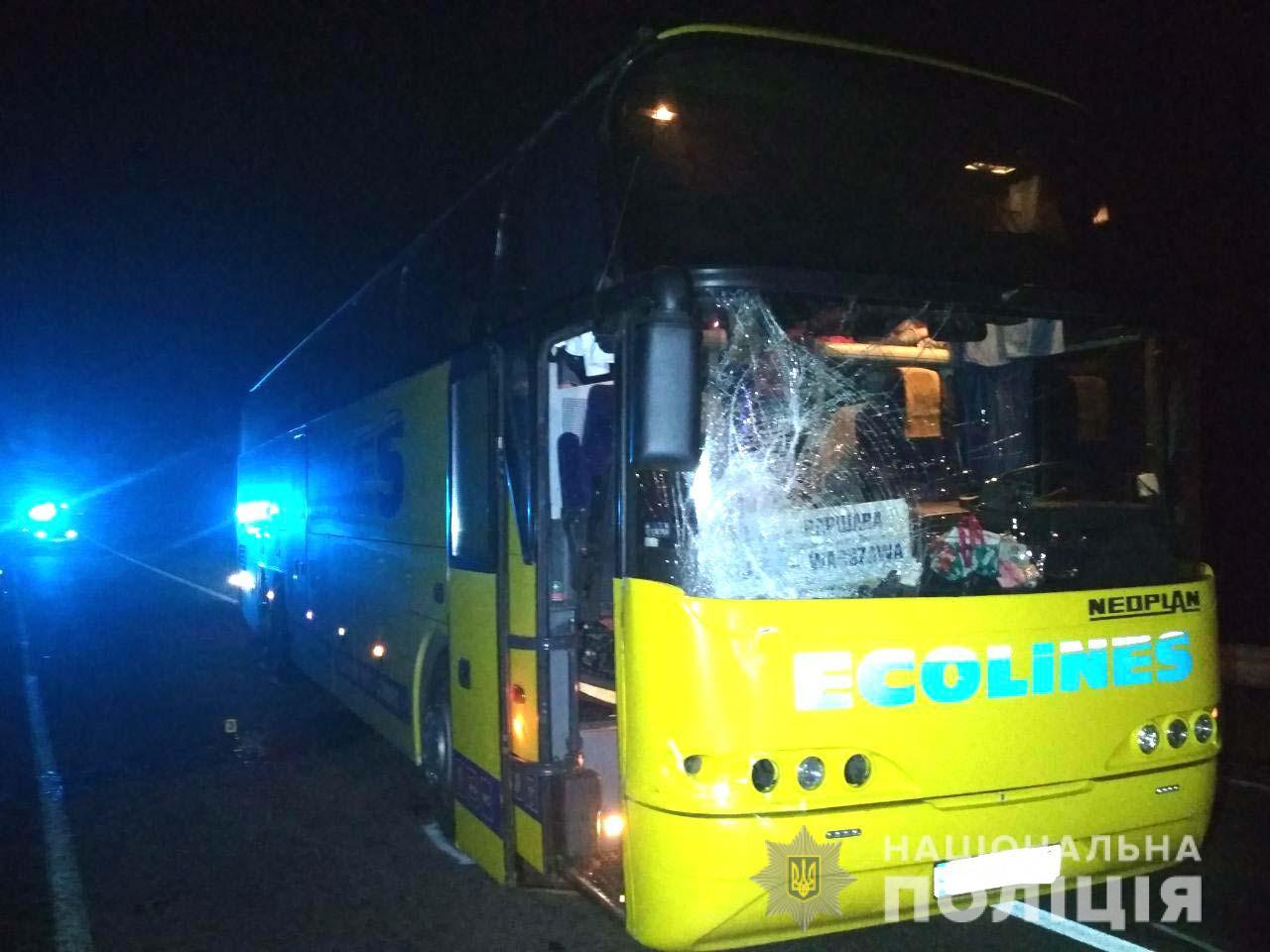 Сарненчанин загинув під колесами автобуса, що прямував до Варшави