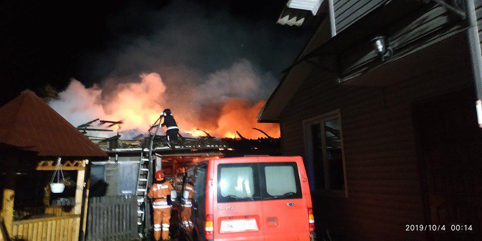 Сарненські рятувальники блискуче ліквідували пожежу