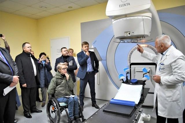 Рівненські пацієнти лікуватимуться у новому онкологічному центрі
