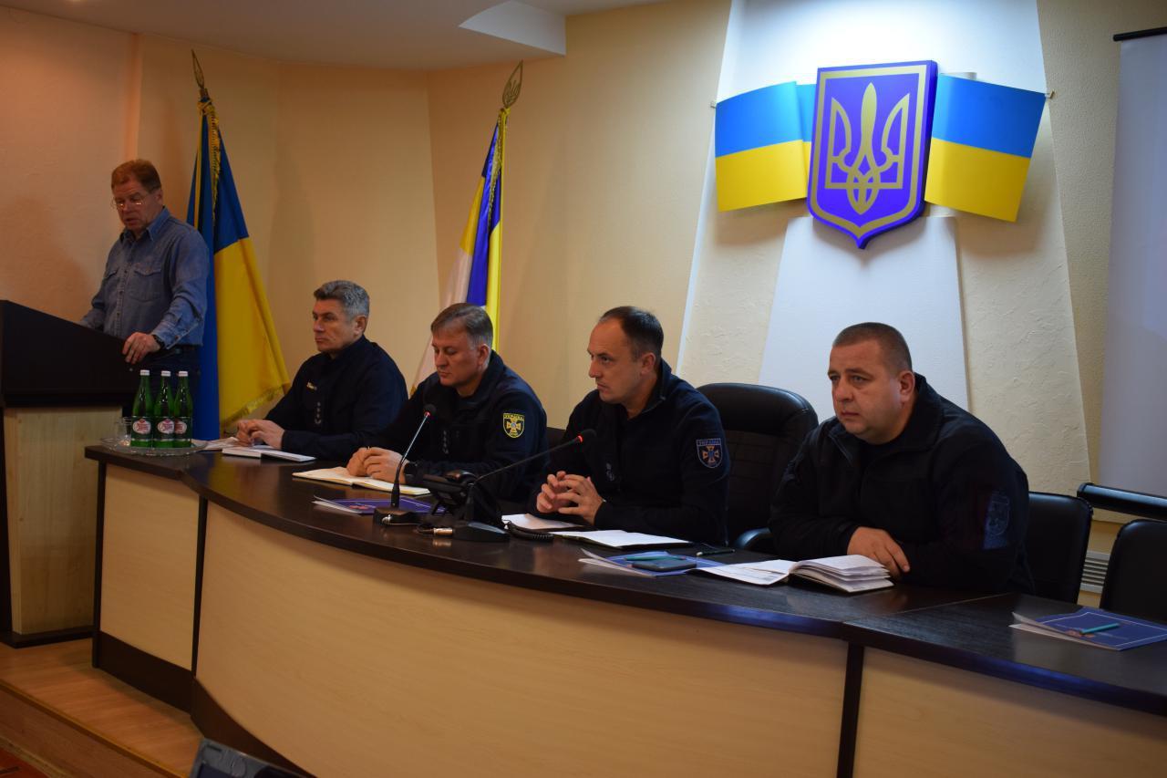 Рівненські рятувальники провели апаратну нараду