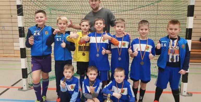 Маленькі здолбунівські футболісти здобули срібло у Німеччині