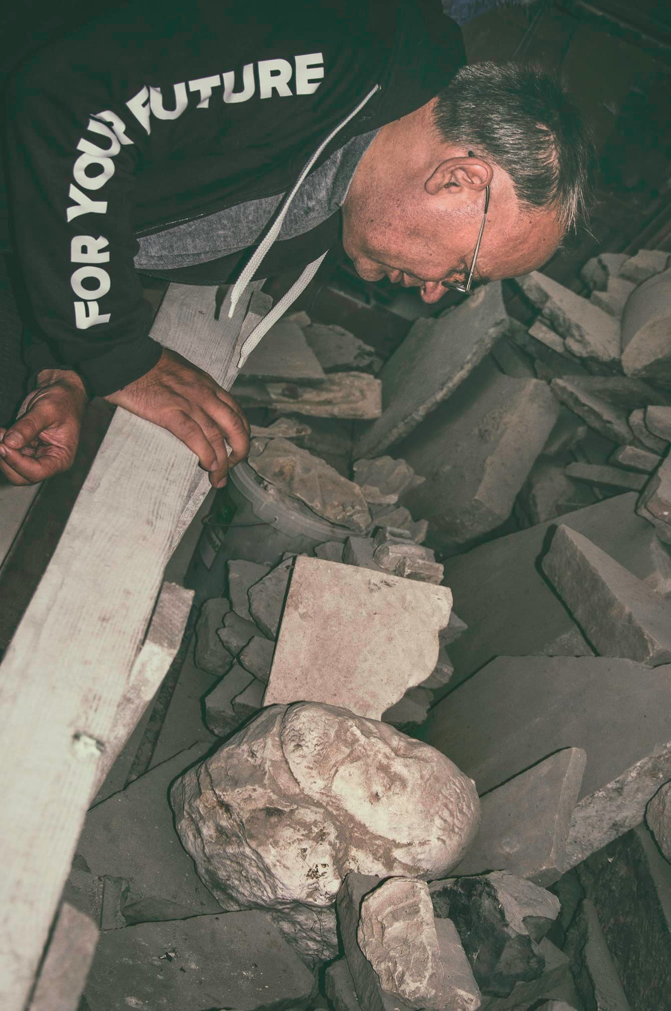 Рівненський мистецтвознавець випадково знайшов голову князя Радзивіла