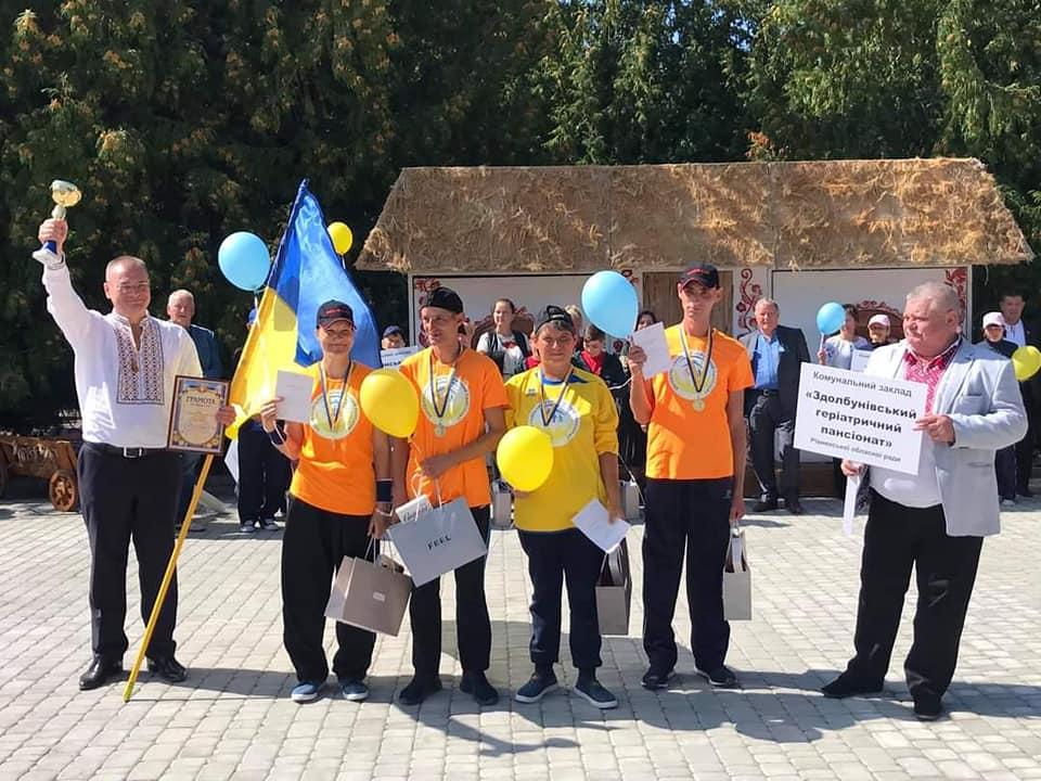 «Рух заради здоров'я»: фінал спартакіади з такою назвою відбувся на Рівненщині. Як це було