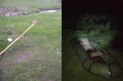 На Рівненщині рибалки використовують заборонені знаряддя для ловлі риби