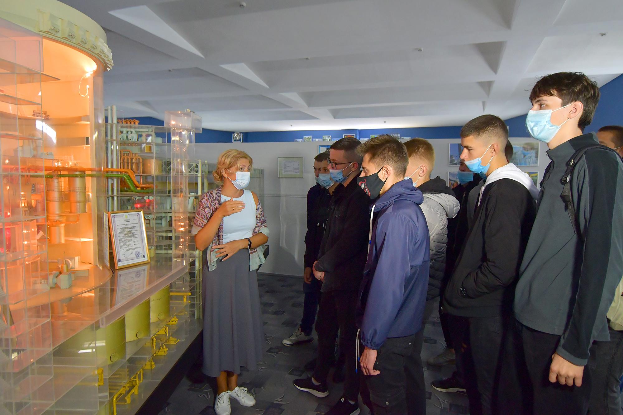Ще 80 учнів приєдналися до ПТУ Рівненської АЕС