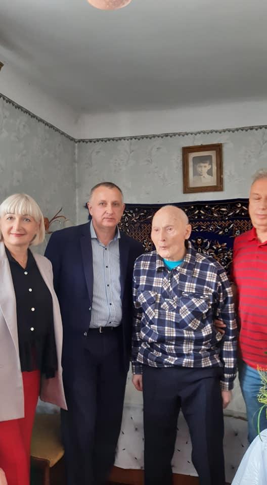 У Рівному відзначив 100-річний ювілей інвалід війни