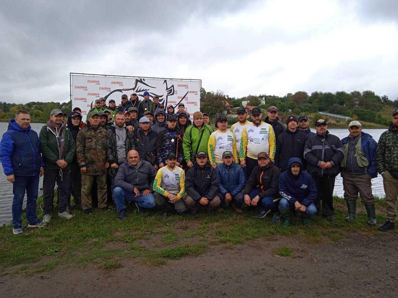 Рівненські риболови боролися за першість на чемпіонаті України у Вінниці