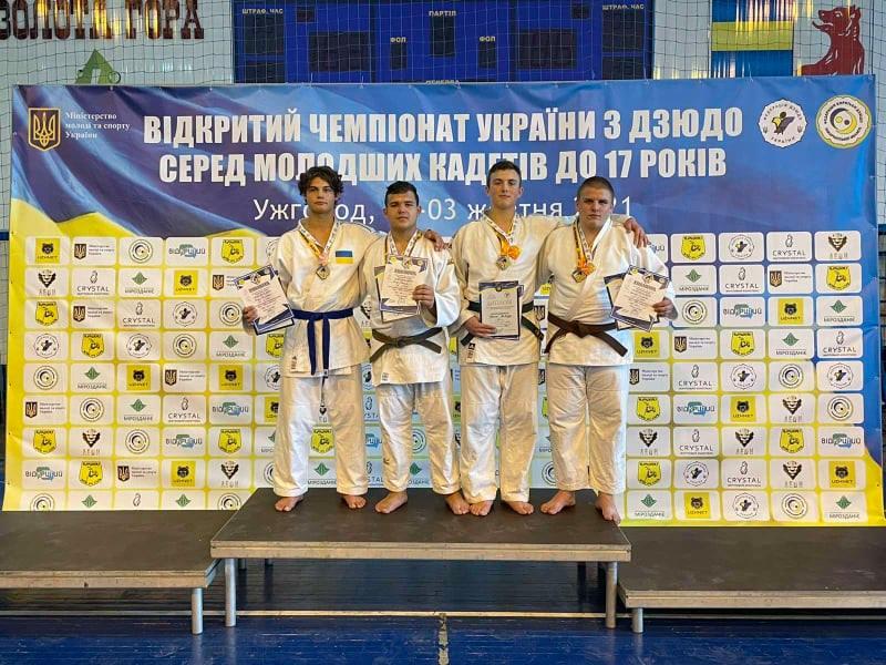 Юний рівненський дзюдоїст на Чемпіонаті України в Ужгороді опинився у трійці кращих