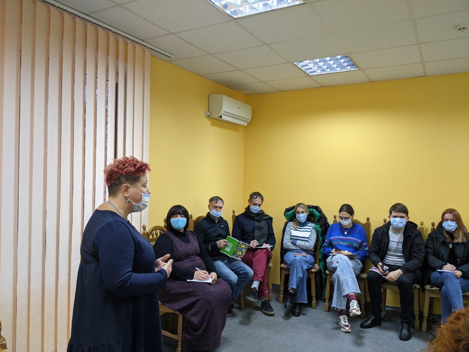 На Рівненщині вчать молодь волонтерської діяльності