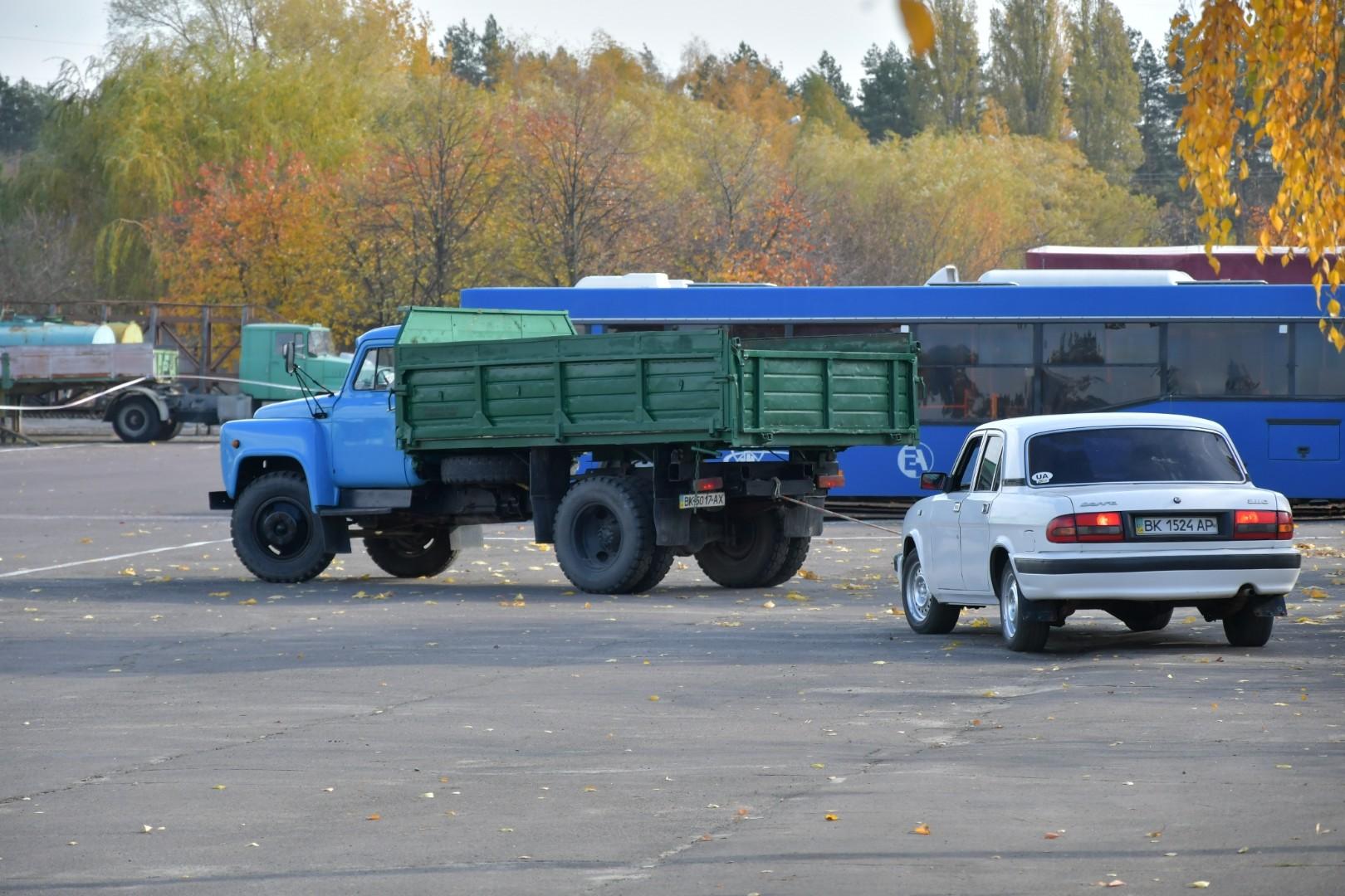 У Рівненській АЕС провели конкурс серед водіїв